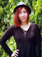 Kim Blackdress-hat (1) by dashcosplay