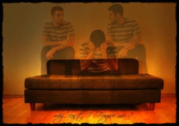 why can t i  forgive myself? HDR by evrengunturkun