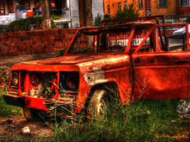 Old PickUp HDR by evrengunturkun