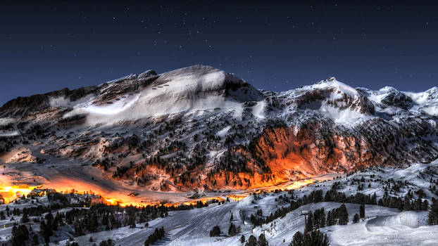 Fire in Ice HDR by evrengunturkun