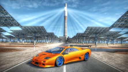 Lamborghini Diablo GT2 HDR by evrengunturkun