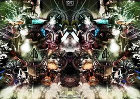 Skull electrospinners by edharu