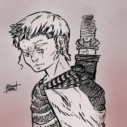 Young Barbarian by Bokuwa