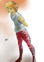 Redhead Boy : ) by Bokuwa