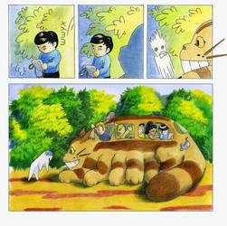 Totoro-Trek by derBudaika