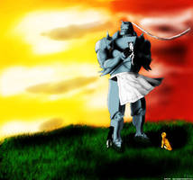 Alphonse Elric by HCP-RedSync
