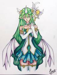 Starguardian Soraka by Leri-chan