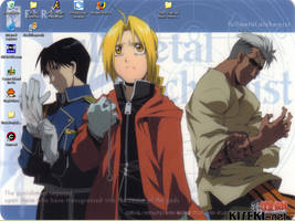 FMA Roy Ed and Scar by Adaption