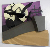 3d paper engineering project by m-e-a-g-z