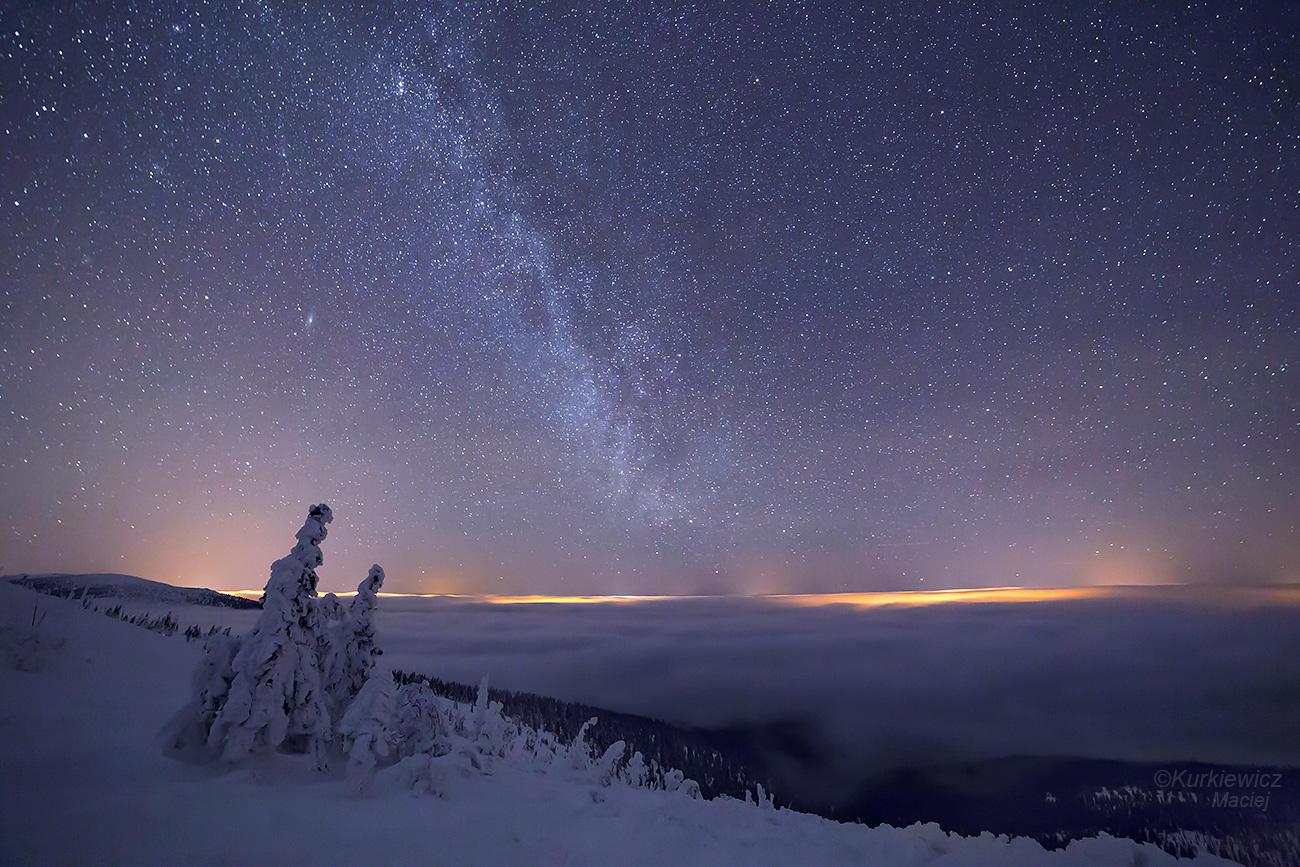 Milky, Milky, Milky Way ! by Sesjusz