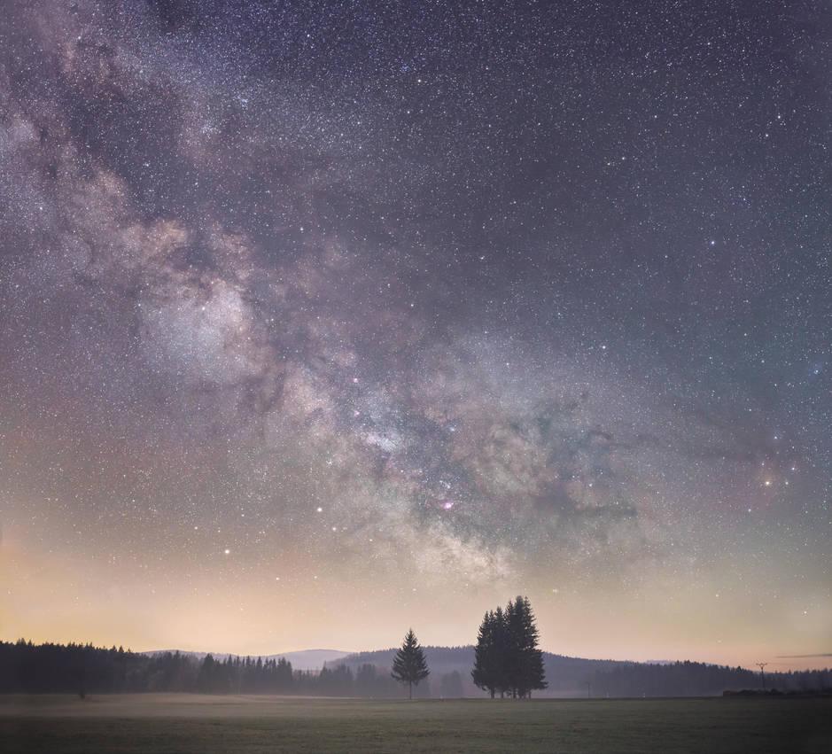 Milky Milky Way by Sesjusz