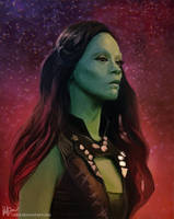 Gamora by Gejda