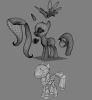 Overhaul Pony Source Files by Poninnahka