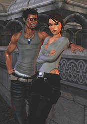 - Zip and Lara - by HenryCST