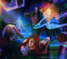 Dangerous Nightmare!wake me up! by ThunderMadArts14