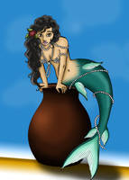 Tropical Mermaid by RaxaMermaid