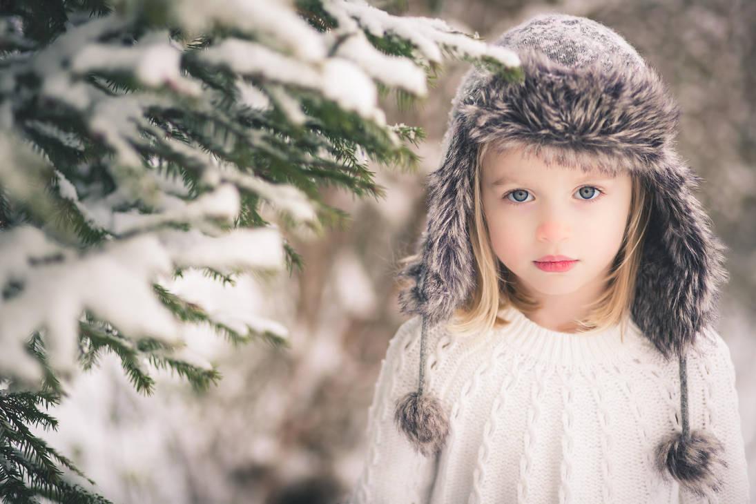 Snow Girl by SandraJolly