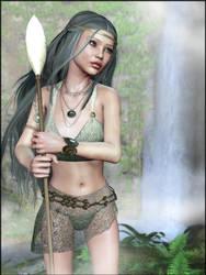 338-Bryn of the Ethiriel Elves by lyonesskim