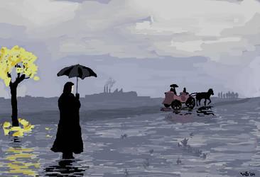Qu'il pleuve by whiteboarders