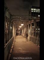 Paris by Night - Arsenal by Encephalartos