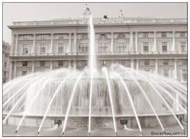 Piazza Di Ferrari by Encephalartos