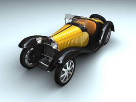 Bugatti t55 by wurp