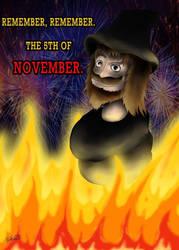 Happy Guy Fawkes Night! by JoshGarciaArtworks