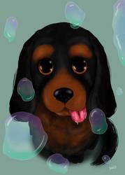 DogsEyes by JoshGarciaArtworks