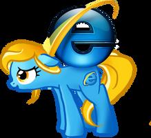 Internet Explorer Pony by Bedupolker