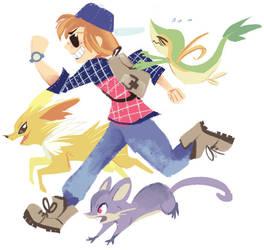 Pokemon Go! by Bedupolker