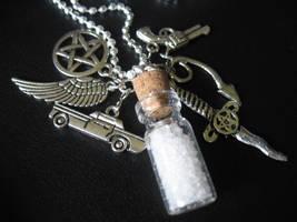 Supernatural Mojo Necklace by SpellsNSpooks