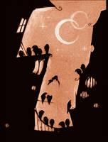 the ravens by Neuntoeter