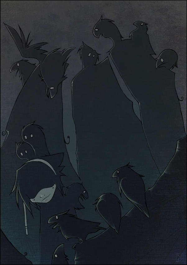 the ravens part IV - estnar by Neuntoeter