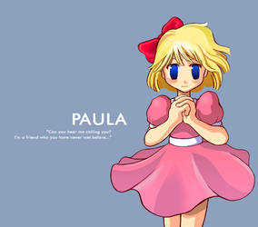 PAULA - EarthBound by meechiru