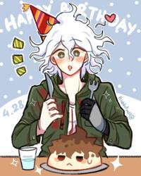 happy birthday hope boi~ by boaarmeep