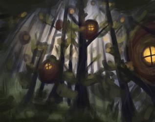 Elven Haven by CaptainDishwasher
