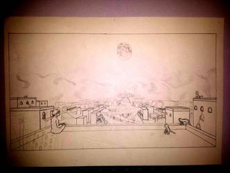 India cityscape WIP by traein