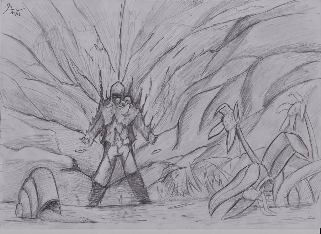 Inkktober day1 : Poisonous by Masbanart31