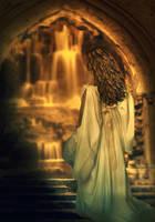 gold falls... by iwetka