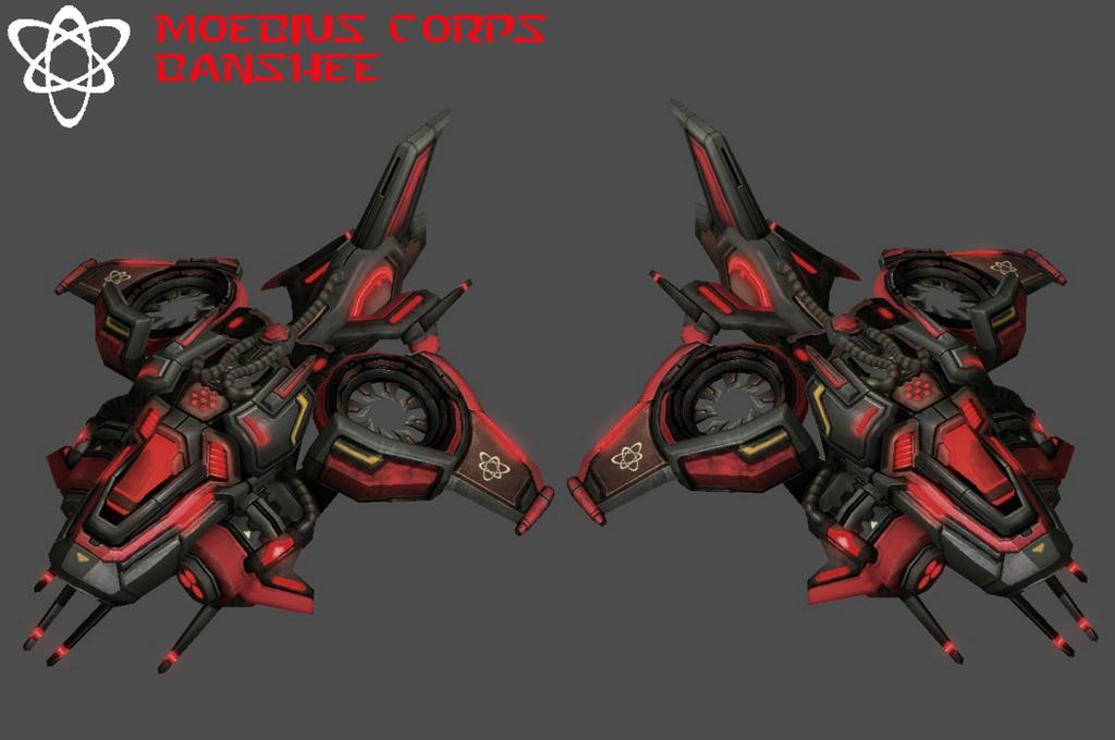 StarCraft 2 - Moebius Corps Banshee (V3) by HammerTheTank
