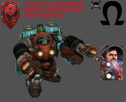 StarCraft 1 - First Sergeant Gui Montag by HammerTheTank
