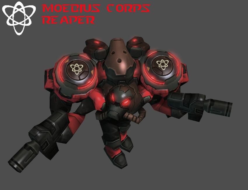 StarCraft 2 - Moebius Corps Reaper (V2) by HammerTheTank