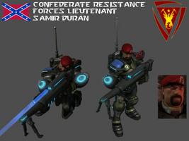 StarCraft 1 - Lieutenant Samir Duran by HammerTheTank