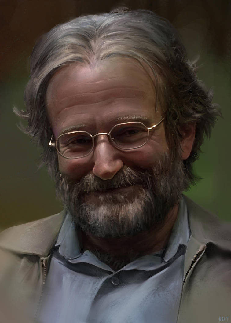 Robin Williams by WeaponMassCreation