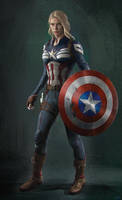 Captain America by WeaponMassCreation