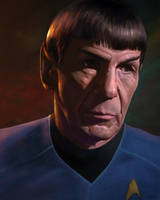 Good Bye, Spock. by WeaponMassCreation