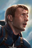 Captain America - Steve Rogers by WeaponMassCreation