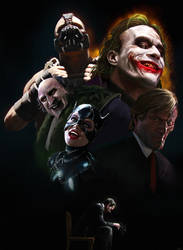 The Cinematic History of Batman by WeaponMassCreation