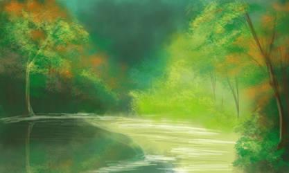 Forest by memyone