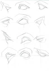 Bargue Eyes by memyone